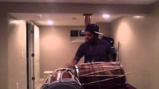 Ride It (Hindi) by Jay Sean - Dhol Cover Part 3