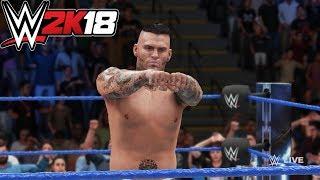 WWE : 2K18 COREY GRAVES ENTRANCE, FINISHER ,SIGNATURE & VICTORY MOTION
