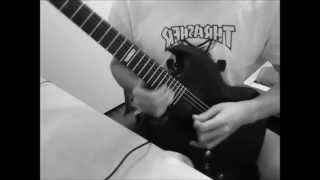 As I Lay Dying - Parallels Guitar Solo Cover