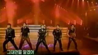 Shinhwa - Perfect Man (performance) 03.31.02