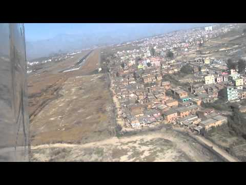 Erm, we're landing but where is the runway? – Nepal