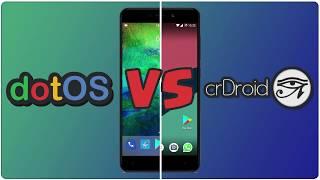 dotOS vs crDroid: Xiaomi Redmi 4A ¿Cuál es mejor?   Benchmark (analisis) Nougat Rom