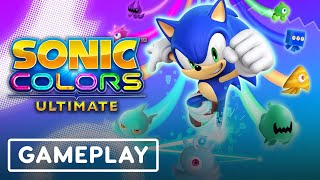Sonic Colors: Ultimate first gameplay
