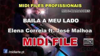 ♬ Midi file  - BAILA A MEU LADO - Elena Correia ft. José Malhoa