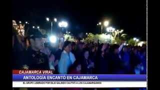 Antología encantó en Cajamarca