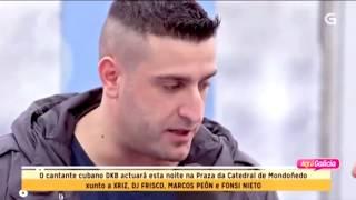 Dj Frisco & Marcos Peón en AQUÍ GALICIA de la TVG