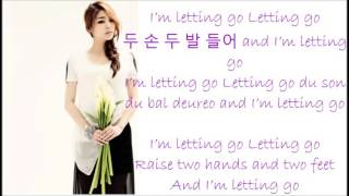 Ailee ft Amber- Letting Go Han Rom Eng
