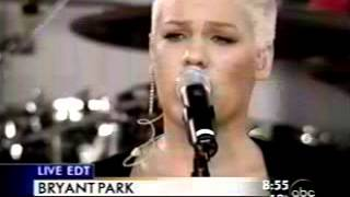 P!nk - Don't Let Me Get Me (Live @ Good Morning America)