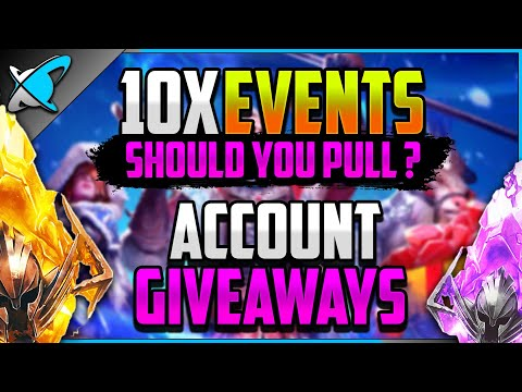 DOUBLE 10X EVENT... Should You Summon !? | Win My 2nd Account !! | RAID: Shadow Legends