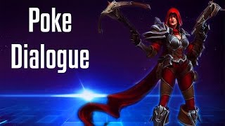 Valla Poke Dialogue | All Quotes | Heroes of the Storm