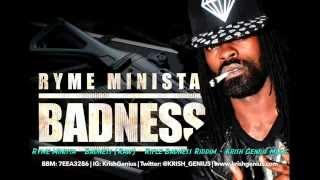 Ryme Minista - Badness (Raw) Rifle Badness Riddim (Official Audio)