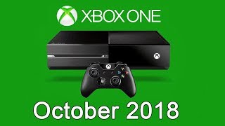 XBOX ONE Free Games - October 2018