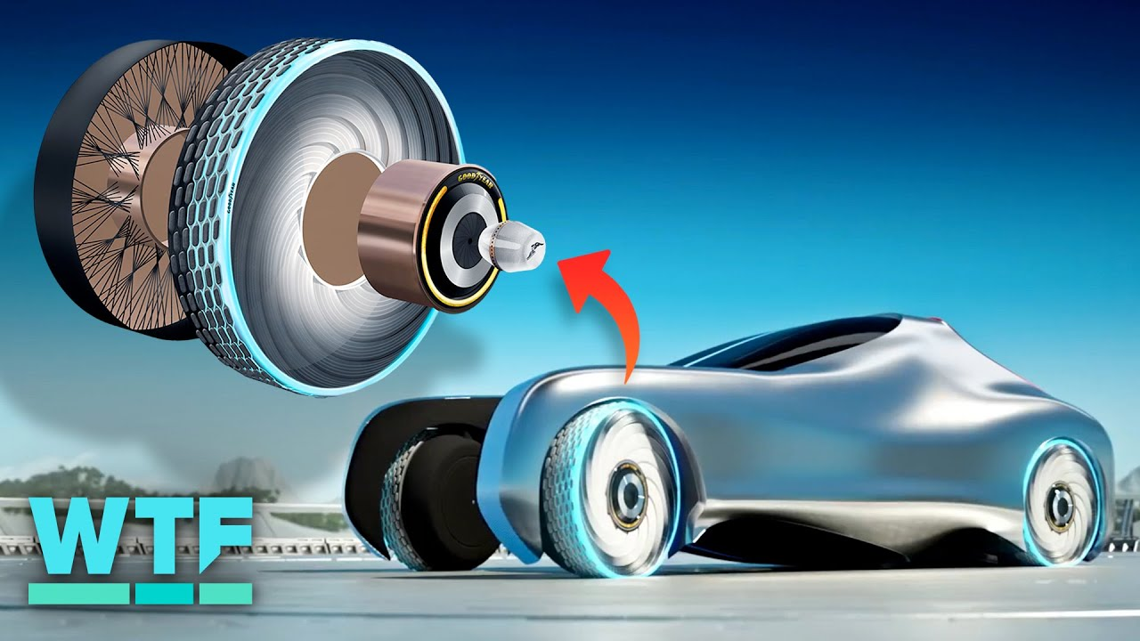 The Concept Tire of the Future can Repair itself