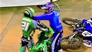 The Best Motocross Fights 2