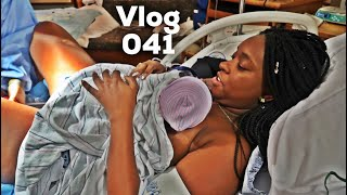 BIRTH OF BABY ROYCE | LABOR AND DELIVERY VLOG / STORY | EMOTIONAL !! width=