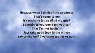 Tim Bowman Jr - I'm Good (Lyrics)