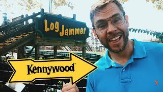 Dad's Goodbye to Kennywood's Log Jammer