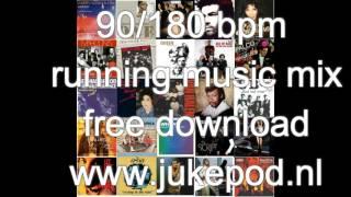 90/180 bpm running music mix 1