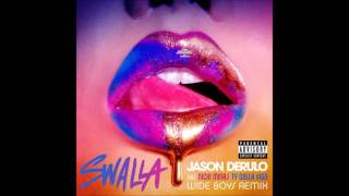 Jason Derulo - 'Swalla' ft Nicki Minaj, Ty Dolla $ign, (Lyric Video)