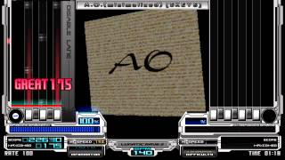 Unknown - A.O - Minimal Mix-, 140BPM (Genre, Techno. BMS Of Fighters, 2006) 【BMS】