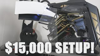 INSANE $15000 Gaming/Workstation Setup. RTX 2080 Ti, 2990WX, 4TB SSD....