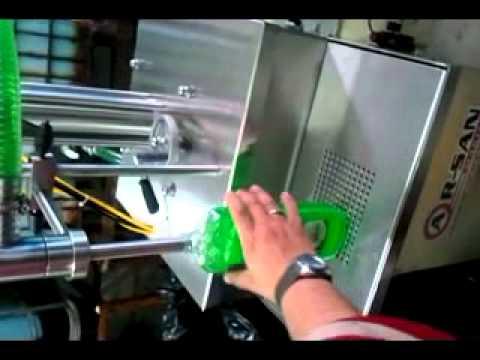 Tek Pistonlu Sıvı Bulaşık Sabunu Dolum Makinası ''AR-SAN MAKİNA''