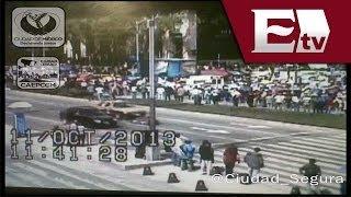 Marcha de la CNTE colapsa Paseo de la Reforma/ Nacional Con Mario Carbonell