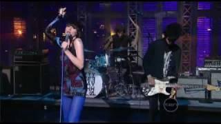 Yeah yeah yeahs - Zero (Live Letterman Show)  April 14, 2009