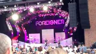 "Foreigner Live Starlight ""Waiting for a Girl Like You"" 6 8 14"