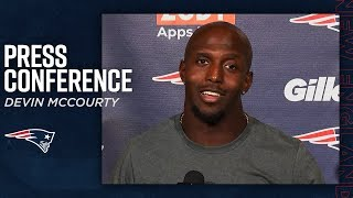 """Devin McCourty: """"Our Guys Did A Good Job Covering Tonight"""""""