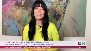 LLegan más vacunas al Condado Johnson, Kansas