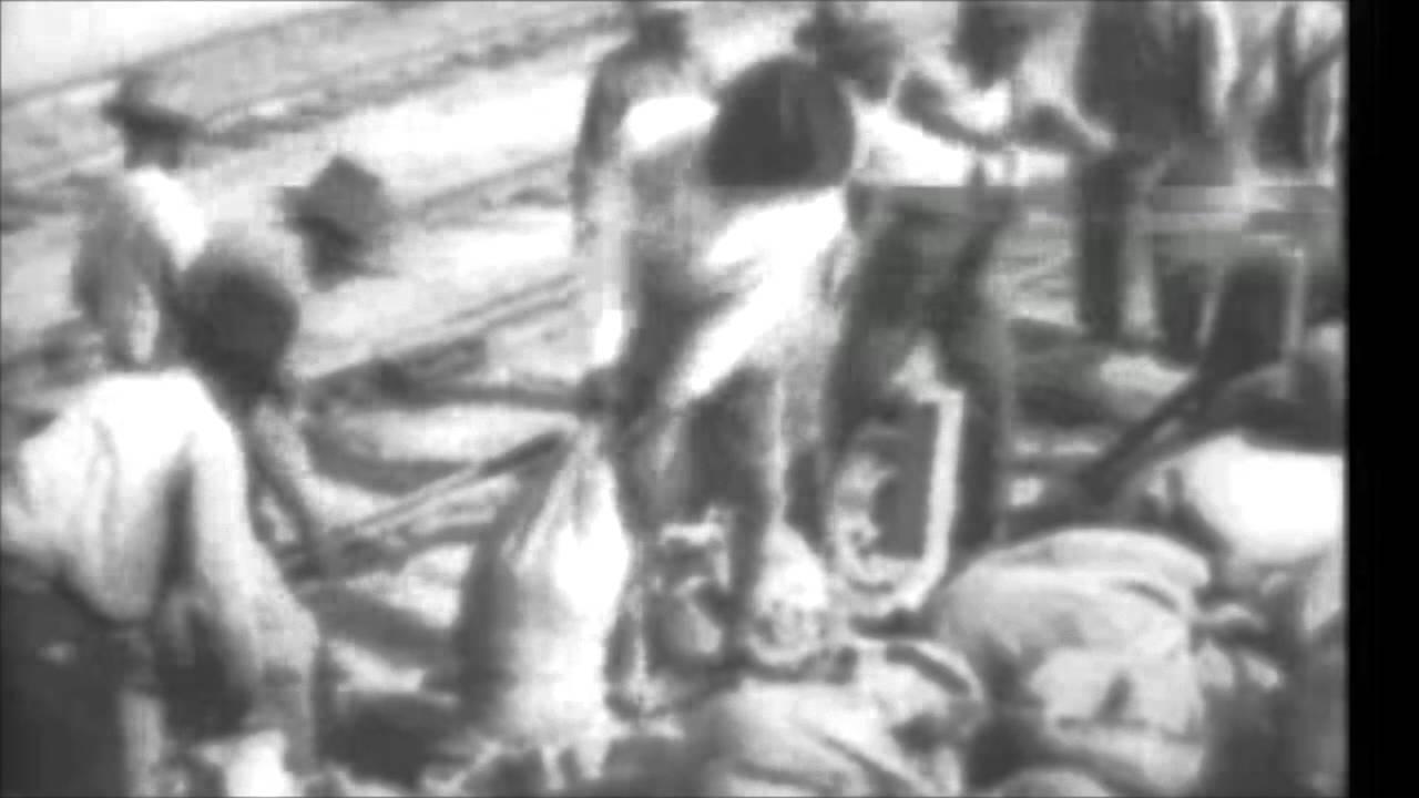 1927 Mississippi River flood in rare vintage film