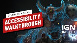 DOOM Eternal Accessibility and Customization Options are Extensive