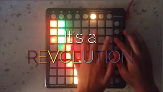 Diplo - Revolution (Unlike Pluto remix) (Launchpad cover by Purpz Nic) [Project File]