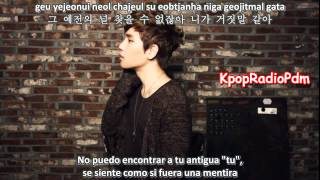 K.Will- It's Not You   [Sub español-hangul-roma]