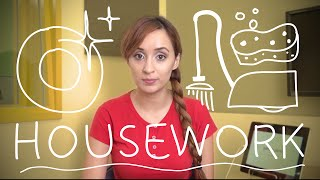 Weekly Portuguese Words with Jade – Housework