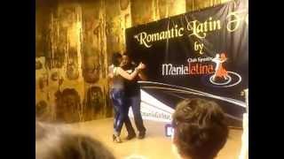 Joao Machava & Andra - Bo Tem Mel (Kizomba Demo @ Romantic Latin Festival 2013)