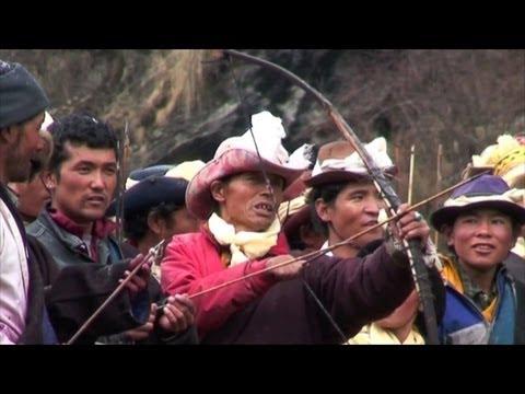 History of Nepal  Festival at SAMAGAU MANASLU NEPAL