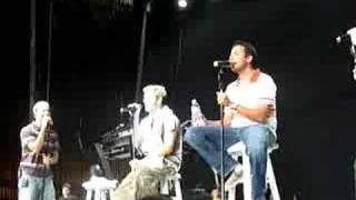 Backstreet Boys - Trouble Is Acapella, Vienna, VA soundcheck