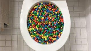 Will it Flush? - M&M's