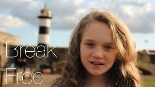 Ariana Grande (feat. Zedd) - Break Free - Cover by 11 Year Old Sapphire