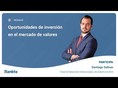 n este vídeo Santiago Salinas, Titular de Relaciones Institucionales y de Gobierno en BIVA, nos explica de una manera sencilla cómo puedes invertir tu dinero y qué oportunidades de inversión se presentan en 2021