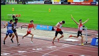 4x400m Men, Final, European U20 Champioships, Boräs SWE, 2019