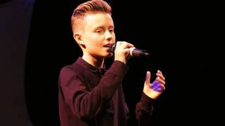 DANCE WITH MY FATHER – LUTHER VANDROSS performed by MITCHELL WINN at Open Mic UK singing contest