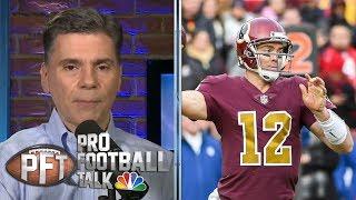 PFT Overtime: Matt Nagy's motivation, Redskins' faith in Colt McCoy   Pro Football Talk   NBC Sports