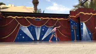 """""""Roue""""  sur scéne  """"El Mouradi Djerba Menzel"""" Hôtel"""