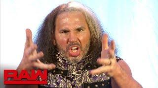 """""""Woken"""" Matt Hardy reacts to Goldust's WrestleMania announcement: Raw, April 2, 2018"""