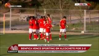 VIDEO | Sporting 0 - 2 BENFICA (Juniores)