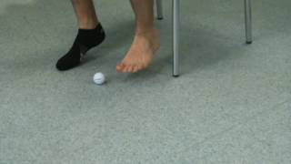 Heel and sole pain exercise 1