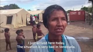 Venezuela refugee